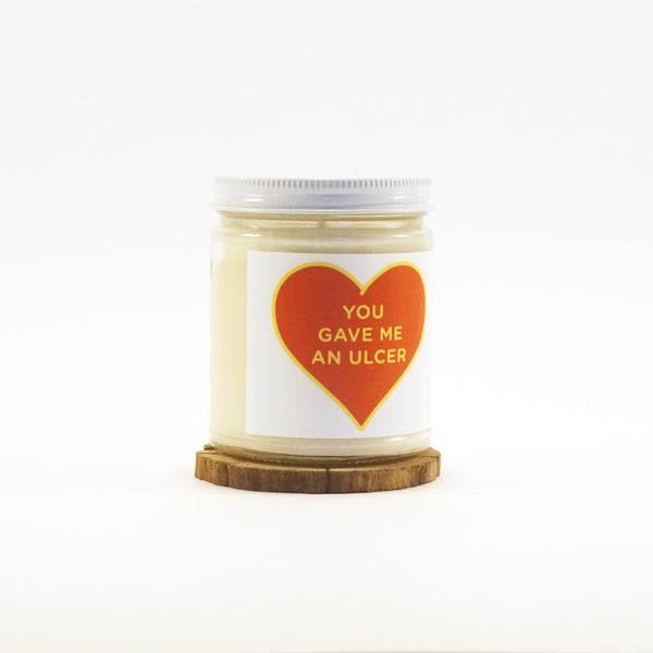 """Ulcer Heart"" Soy Candle"