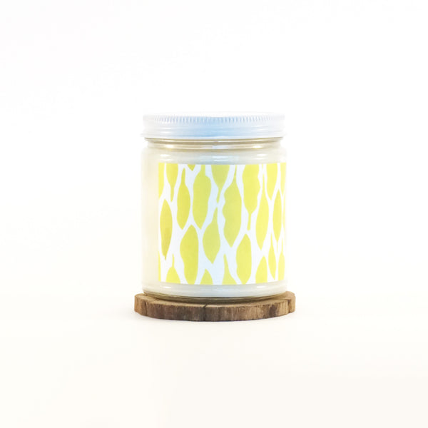 """Yellow Leaves"" Soy Candle"