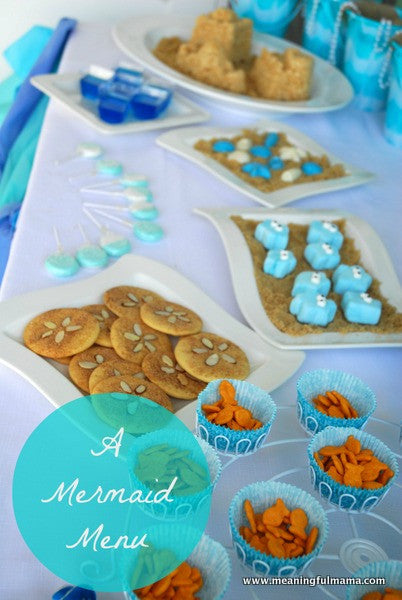 Mermaid Food For A Party Sun Tail Mermaid Tails