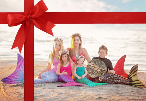 Mermaid Tail Gift Cards