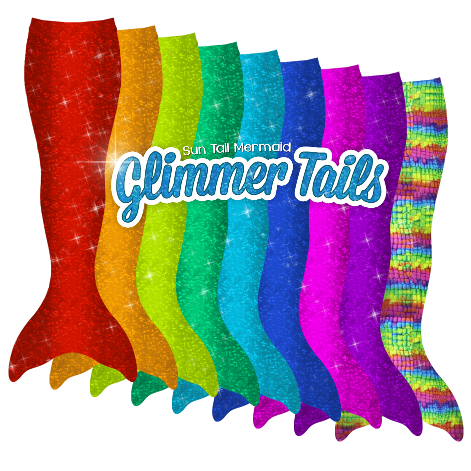 Mermaid Tails in New Colors Now In Stock!