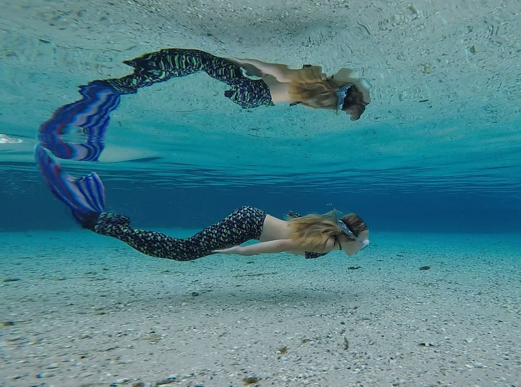 How do Mermaids Swim? How Do You Swim like a Mermaid? What is a Monofin?
