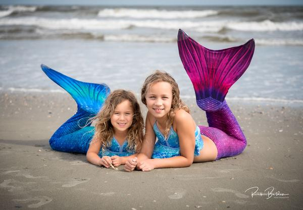 How to put on your Mermaid Tail and Monofin
