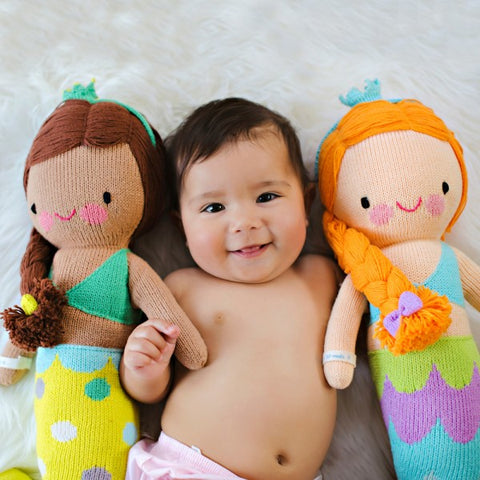 Mermaid Dolls with Baby