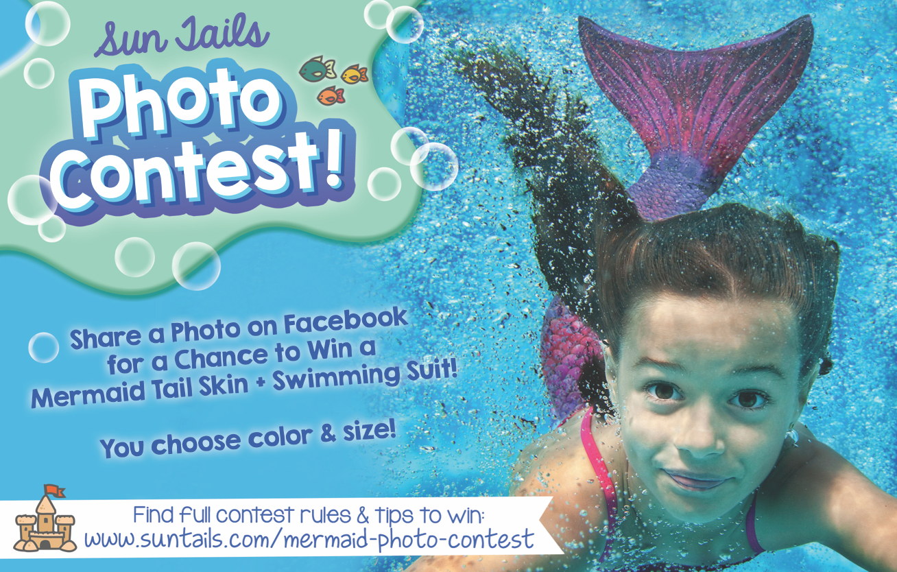mermaid tail photo contest