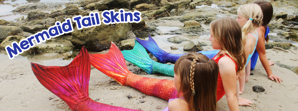 Mermaid tail skins - replacement tails