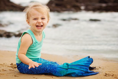 Premium Mermaid Tails for Toddlers and little kids photo photography