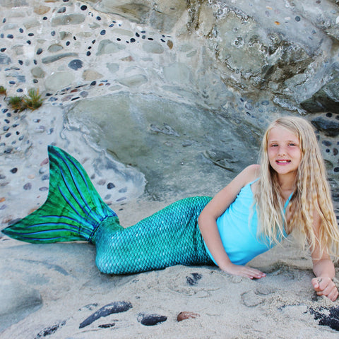 Sea Green Mermaid Tail