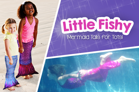 High quality toddler mermaid tails