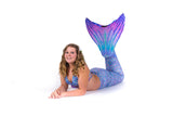 Aurora Borealis Mermaid Tail Skin