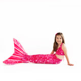 Bahama Pink Mermaid Tail Skin