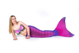 Bali Blush Mermaid Tail Skin
