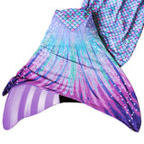 mermaid tail with monofin