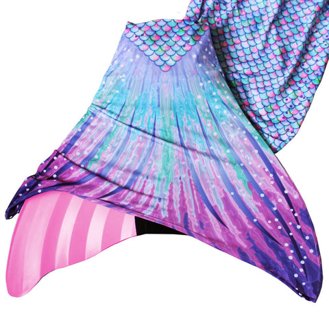 ... pastel pink and lavender mermaid tail with monofin for swimming ... 9b9cf7ba8057