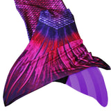 Bali Blush mermaid tail for swimming with monofin
