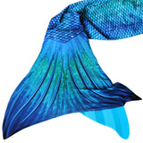 Blue Lagoon Mermaid Tail + Monofin Set
