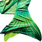 Lime Rickey Mermaid Tail + Monofin Set