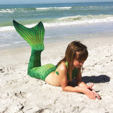 Lime Rickey Mermaid Tail Skin