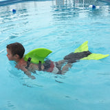 shark fin swimming set with monofin