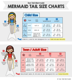 Fiji Red Mermaid Tail Skin