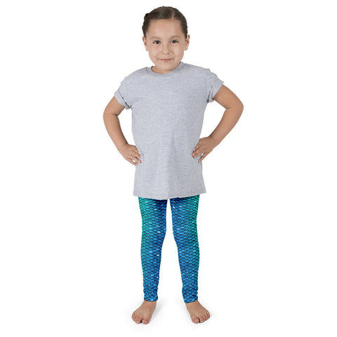Blue Lagoon Little Kid Mermaid Leggings