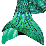 Siren Green Mermaid Tail + Monofin Bundle
