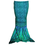 Toddler Mermaid Tail - Siren Green