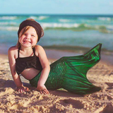 Lime Rickey Toddler Mermaid Tail