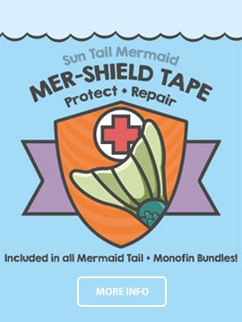 Tape to Protect Your Mermaid Tail