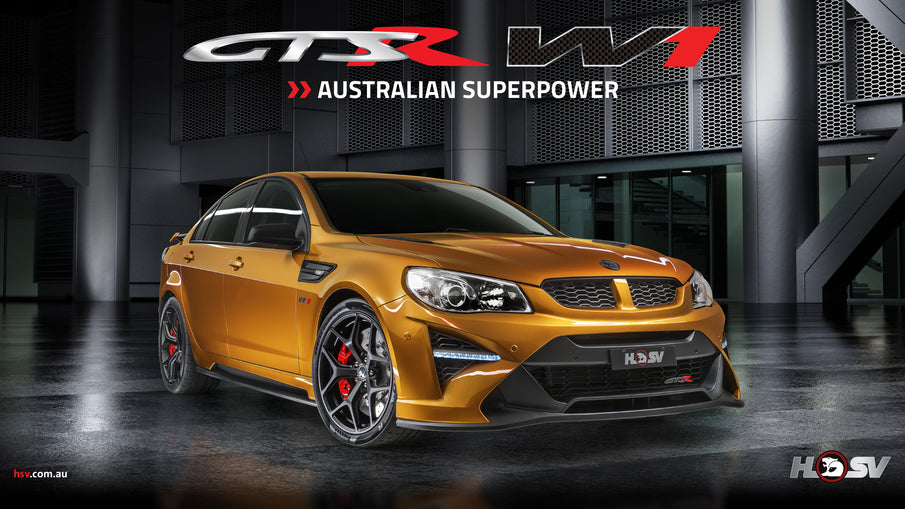 HSV GTSR W1 vs AMG C63S vs M3 vs Giulia Quadrifoglio - A Tribute to the last Australian Made Car