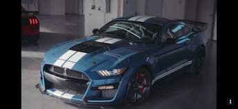 The return of the legend - All New 2020 Mustang GT500