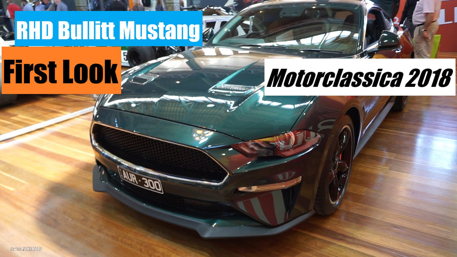 Aussie Bullitt - First Look and Impressions - Motorclassica 2018