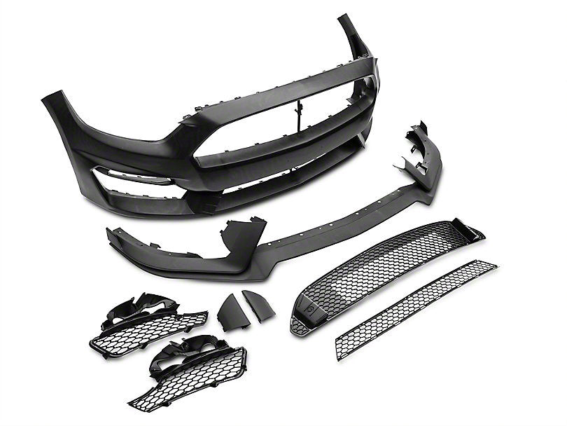 MP Concepts Mustang GT350 Style Front Pumper Fascia Full Kit