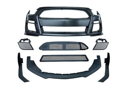 2015-2020+ MP Concepts GT500 Style Front Bumper & Bonnet Kit, Unpainted