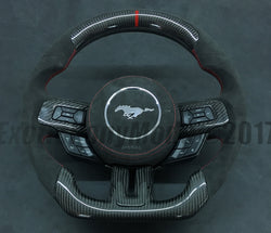 Custom made Carbon Fiber Racing Inspired Steering Wheel