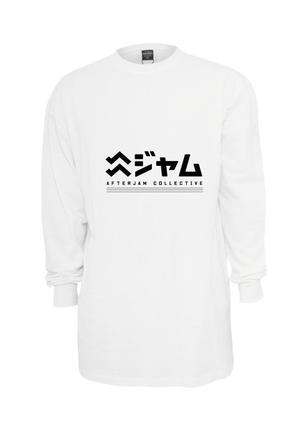 Kyoto Drift L/S | White