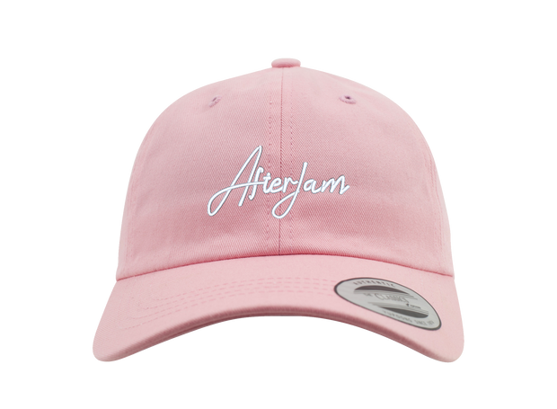 Scripted Dad Cap | Pink