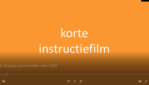 Vital Orange Promovideo mei 2020