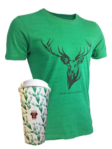 Stag Cup of Tee T-Shirt and Mug