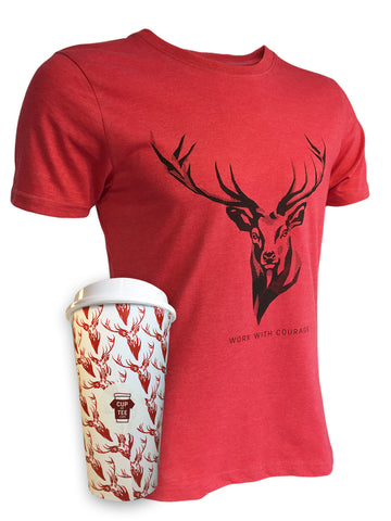 Stag Cup of Tee unusual gift