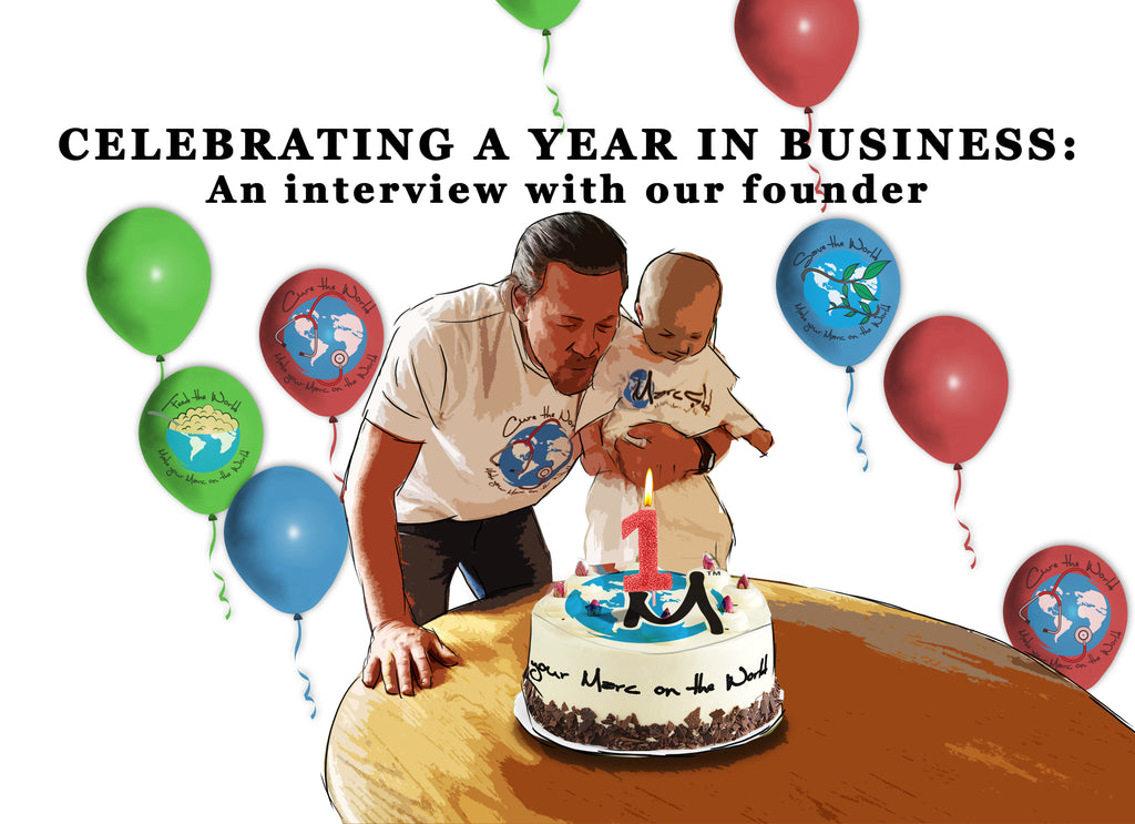 Celebrating a year in business: An interview with our founder