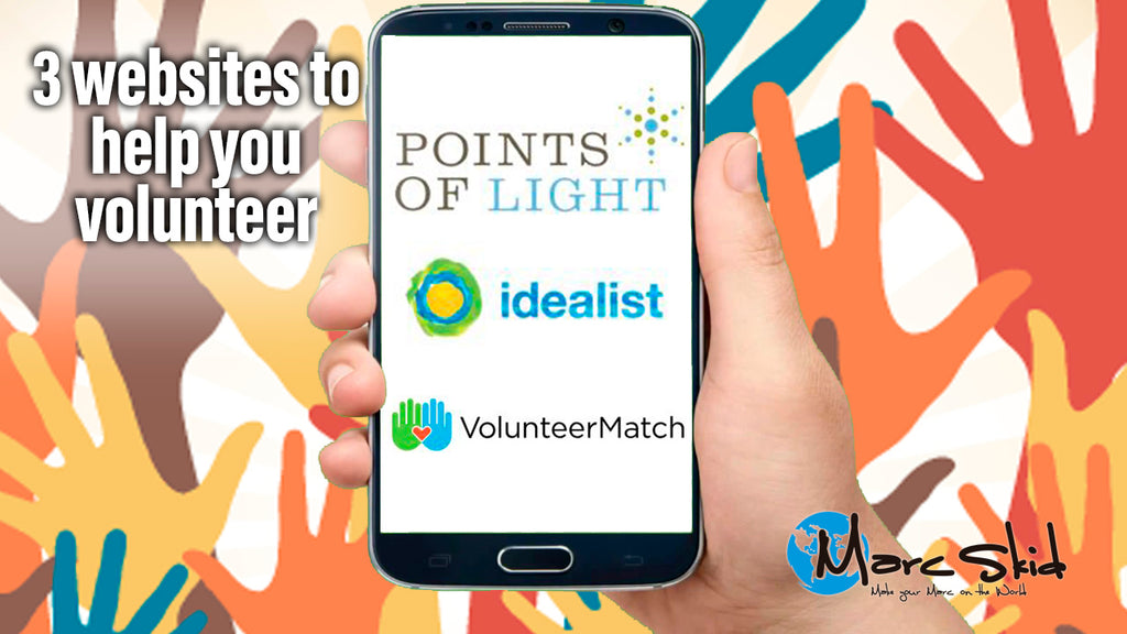 3 websites to help you volunteer