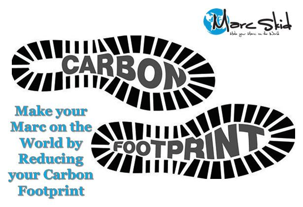 Make your Marc on the World by Reducing your Carbon Footprint