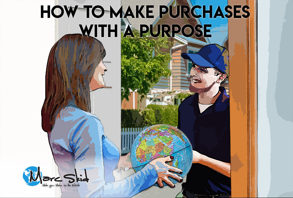How to make purchases with a purpose