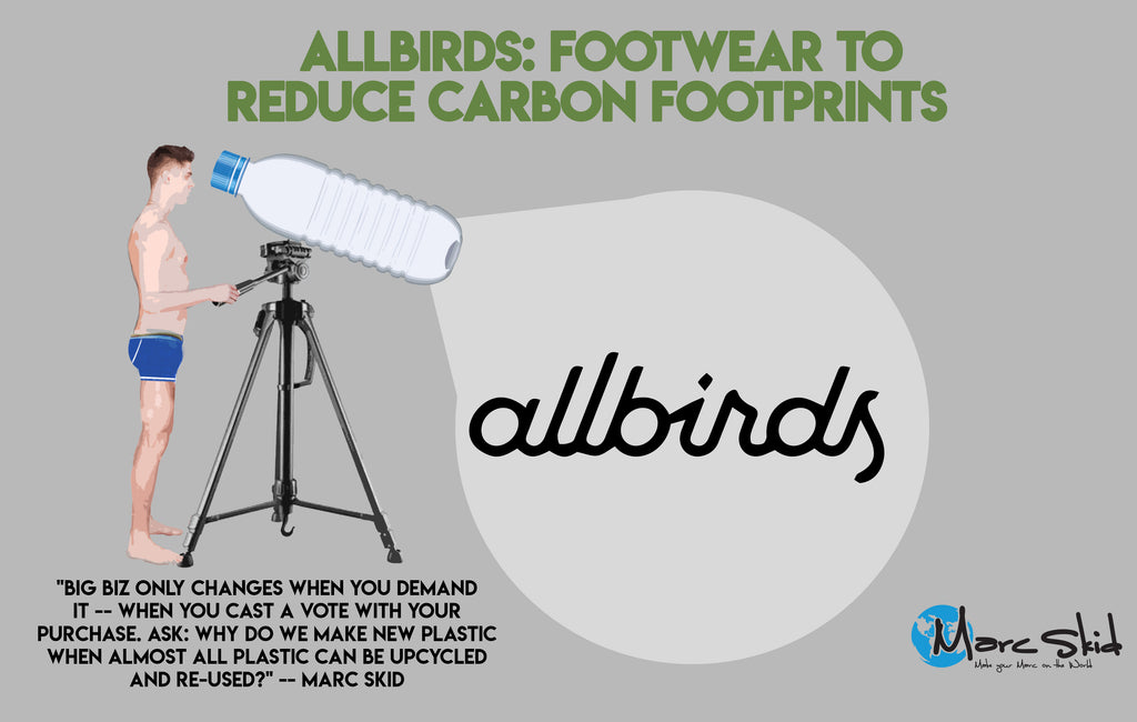 Allbirds: Footwear to Reduce Carbon Footprints