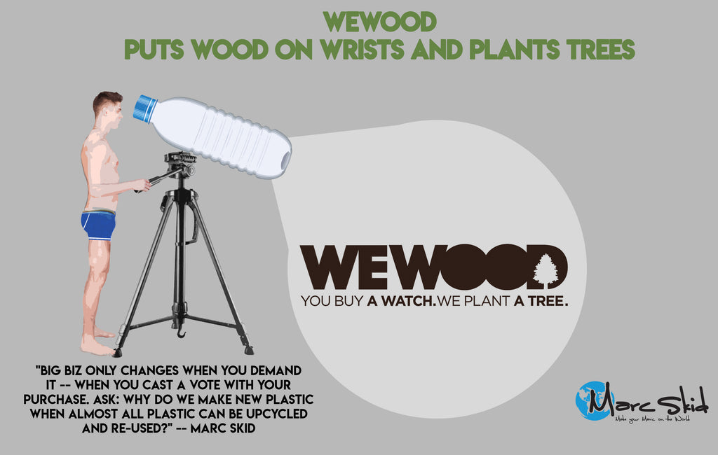 WeWOOD Puts Wood on Wrists and Plants Trees