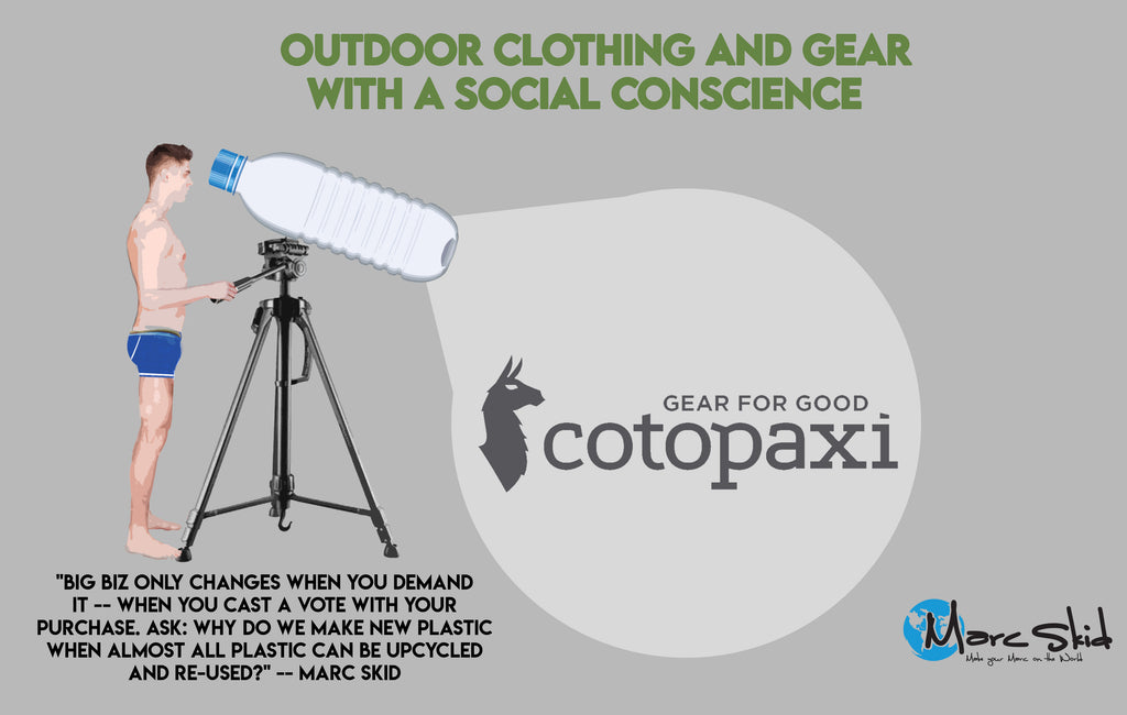 Cotopaxi: Outdoor clothing and gear with a social conscience