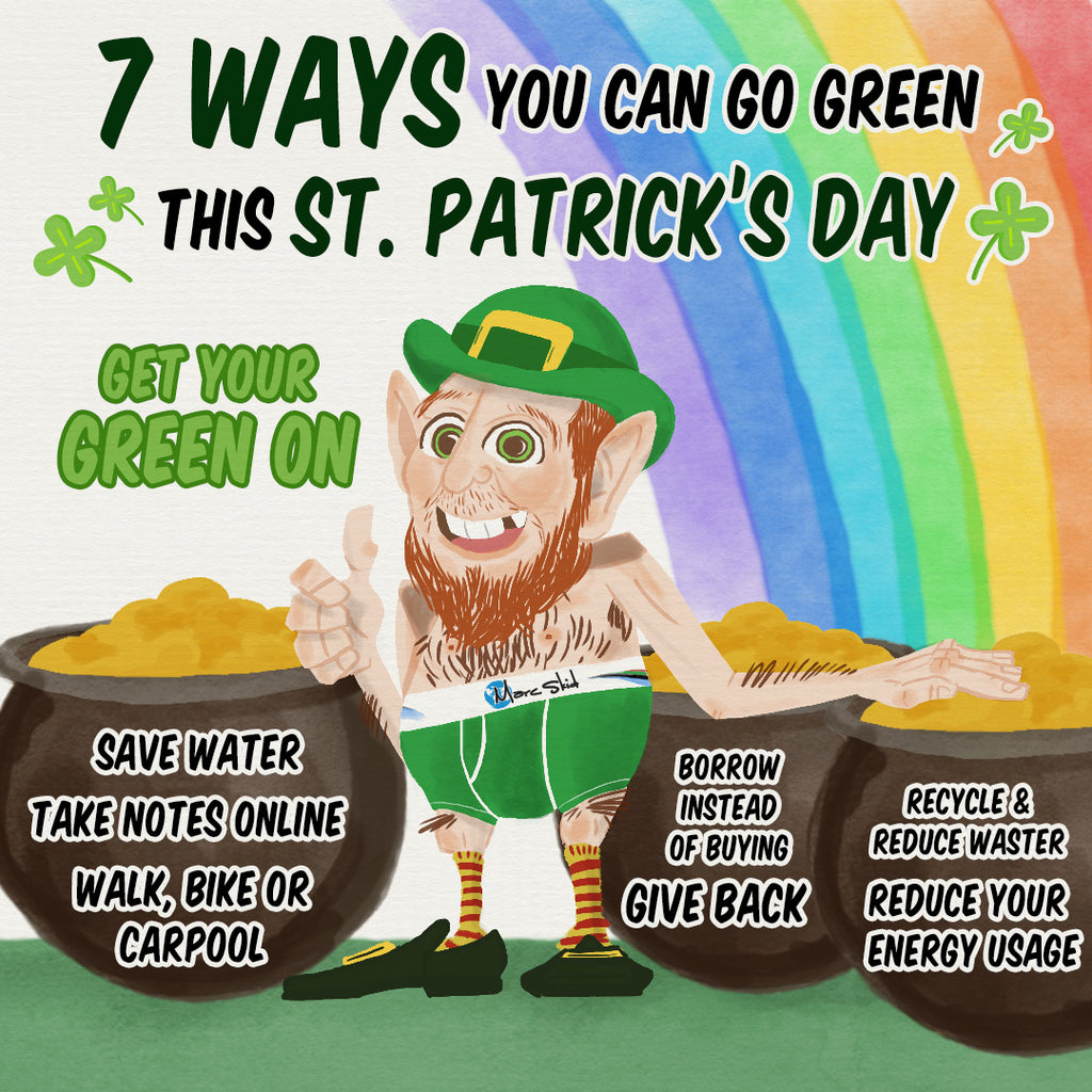 7 Ways You Can Go Green This St. Patrick's Day