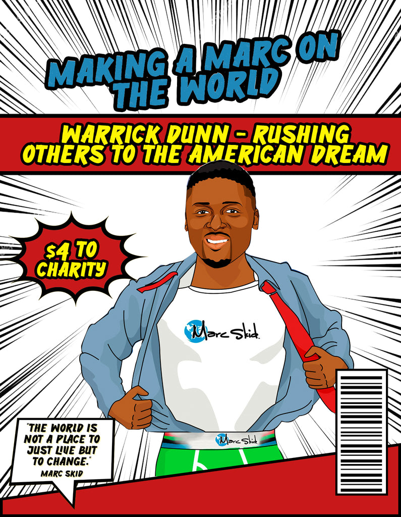 Warrick Dunn - Rushing Others to the American Dream