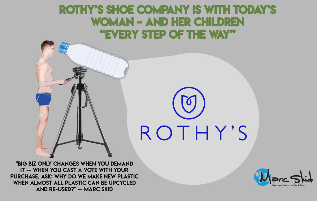 "Rothy's shoe company is with today's woman – and her children -- ""every step of the way"""